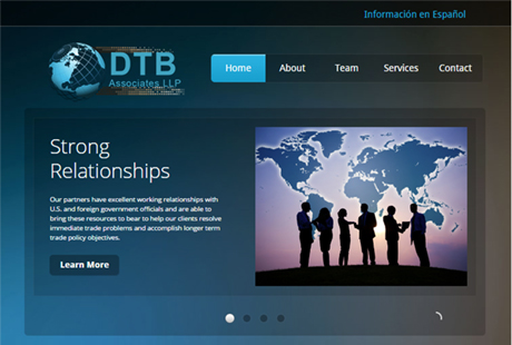 DTB Associates website